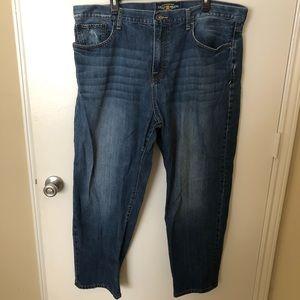 Lucky Brand 42 30 Straight Leg Jeans
